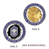 Chief Master Sergeant USAF Coin
