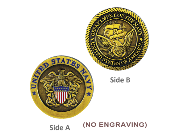 US Navy Military Coin